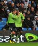Soccer - Capital One Cup - Third Round - Manchester City v Aston Villa - Etihad Stadium