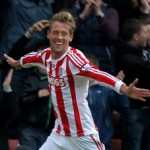 Stoke 2-0 Swansea – Crouch Shoots Down Swans As Potters Finally Get A Win (Photos & Highlights)
