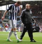 Soccer - Barclays Premier League - Aston Villa v West Bromwich Albion - Villa Park