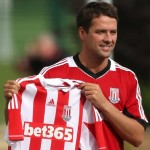 Michael Owen Left To Unveil Himself At Stoke (Photos)