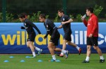 Soccer - 2014 FIFA World Cup - Qualifier - Group H - England v Ukraine - England Training Session - London Colney