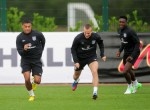 Soccer - 2014 FIFA World Cup - Qualifier - Group H - England v Ukraine - England Training Session - London Colney