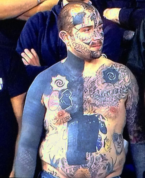 snapshot whappy lazio fan with audacious full body tattoo vs tottenham who ate all the pies. Black Bedroom Furniture Sets. Home Design Ideas