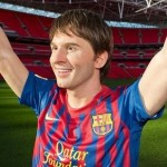 New Lionel Messi Waxwork Unveiled At Wembley, Looks Ever-So-Slightly Like Chris De Burgh (Photos)