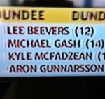 Snapshot: Beevers And Gash Score On Soccer Saturday