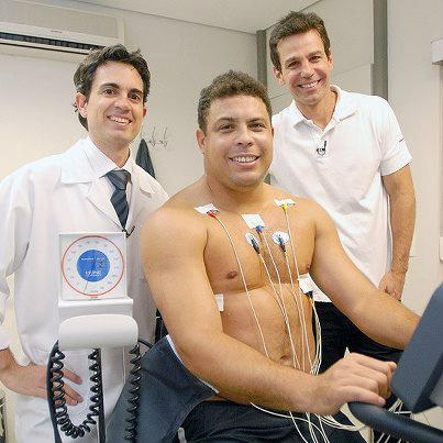 Ronaldo Signs Up For Brazilian 'Celebrity Fit Club', Weighs In At Hefty 118kg (Video)
