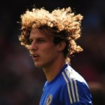 Football GIF: David Luiz Pings Picture Perfect Freekick In Off Post vs FC Nordsjaelland