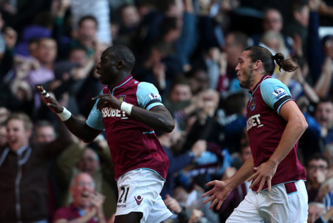 Soccer - Barclays Premier League - West Ham United v Arsenal - Upton Park