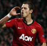 Champions League: Man Utd 3-2 Braga – Chicharito Brace Helps Save United's Blushes At Old Trafford (Photos & Highlights)