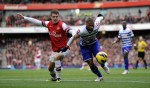 Soccer - Barclays Premier League - Arsenal v Queens Park Rangers - Emirates Stadium
