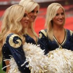 St. Louis Rams Cheerleaders Limber Up At Wembley Ahead Of NFL International Series (Photos)