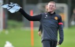 Soccer - UEFA Champions League - Group H - CFR Cluj Napoca v Manchester United - Manchester United Training - Carrington