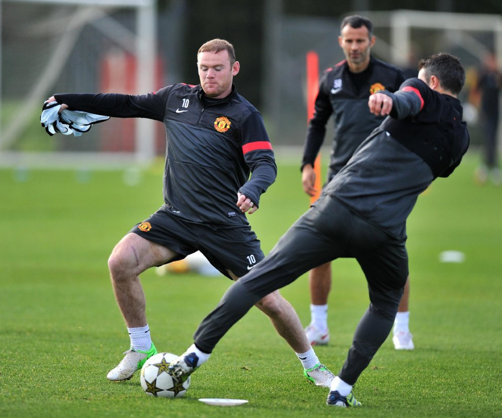 Trainer Man United
