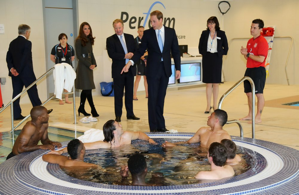 Royal visit to St George's Park » Who Ate all the Pies