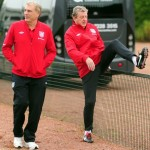 Roy Gets His Leg Over As England Train At London Colney Ahead Of San Marino (Photos)