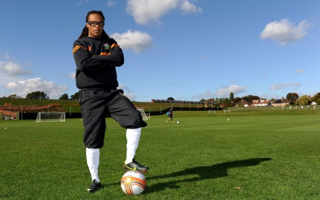 Edgar Davids Arrives For First Training Session At Humble
