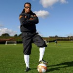 Edgar Davids Arrives For First Training Session At Humble Barnet FC (First Photos)
