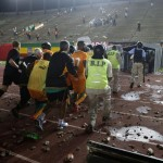 Senegal Face ACoN Expulsion After Violent Stadium Riot Erupts During Ivory Coast Qualifier (Photos)
