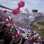 River Plate Given Incredible Reception By 50,000-Strong El Monumental Crowd Before Superclasico vs Boca Juniors (Photos & Video)