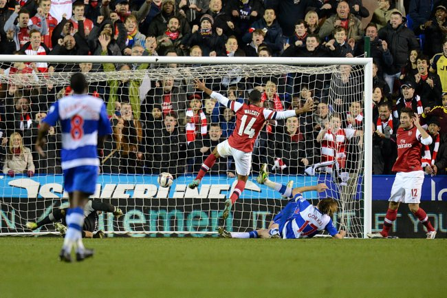 Soccer - Capital One Cup - Fourth Round - Reading v Arsenal - Madejski Stadium