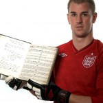 Joe Hart Holds On Tight To Original 1863 Hand-Written FA Rule Book &#8211; Worth Hefty 1,000,000 (Photos)
