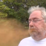 Former TalkSPORT Presenter Porky Parry Attempts 'Cinnamon Challenge', Erupts In Cloud Of Dusty Orange Spittle (Video)