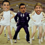 Football GIFs: Real Madrid Player's Heads Lovingly Grafted Into 'Gangnam Style' Video