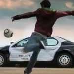 David Villa Wrecks Police Car In 'Need For Speed' Advert That Was Banned By Barcelona (Video)