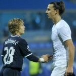 Depressing Snapshot: Zlatan Shakes Hands With 16-Year-Old Infant Who Also Happens To Be Professional Footballer&#8230;