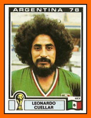 07-Leonardo CUELLAR Panini MExique 1978