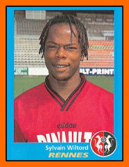 08-Sylvain WILTORD Panini Rennes 1996