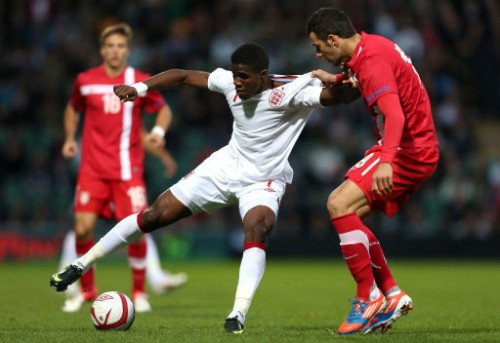 Soccer - UEFA European Under 21 Championship - Play-Offs - First Leg - England v Serbia - Carrow Road