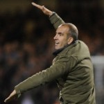 Capital One Cup: Swindon Boss Paolo Di Canio Mocks Aston Villa With &#8216;You&#8217;re Going Down&#8217; Gesture (Video)