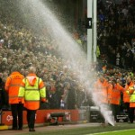 Wet Much? Liverpool Fans Soaked By Errant Anfield Sprinkler (Photos & GIF)