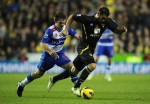 Soccer - Barclays Premier League Soccer - Reading v Noriwch City - Madjeski Stadium