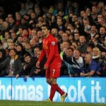 Football GIF: Luis Suarez Turns To Celebrate Goal With Teammates, Suddenly Realises He&#8217;s All Alone