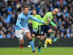 Soccer - Barclays Premier League - Manchester City v Aston Villa - Etihad Stadium