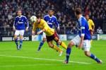 Soccer - UEFA Champions League - Group B - Shalke 04 v Arsenal - Veltins Arena