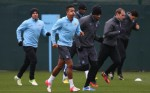 Soccer - UEFA Champions League - Group D - Manchester City v Real Madrid - Manchester Training and Press Conference - Carrington