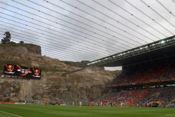 Braga Fc: Around The Grounds: Estadio Municipal, Braga