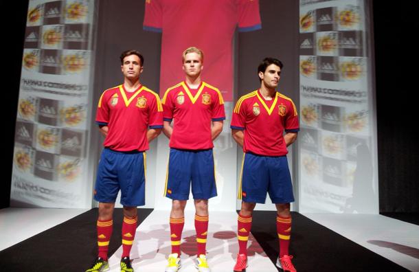 Spanje thuisshirt Confederations 2013