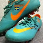 Jonas Olsson Auctions Off Boots Zlatan Wore Against England, Raises Funds For Premature Baby Charity