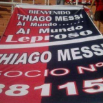 Three-Day-Old Thiago Messi Already Signed On As Member Of Newell's Old Boys