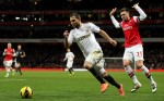 Soccer - Barclays Premier League - Arsenal v Swansea City - Emirates Stadium