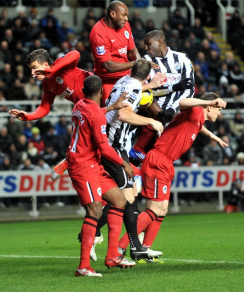 Soccer - Barclays Premier League - Newcastle United v Wigan Athletic - St James&#039; Park
