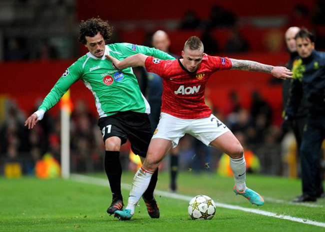 Soccer - UEFA Champions League - Group H - Manchester United v CFR Cluj Napoca - Old Trafford