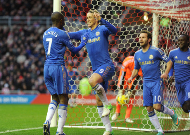 Soccer - Barclays Premier League - Sunderland v Chelsea - Stadium of Light