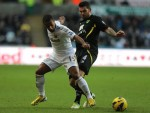 Soccer - Barclays Premier League - Swansea City v Norwich City - Liberty Stadium