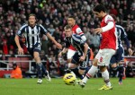 Soccer - Barclays Premier League - Arsenal v West Bromwich Albion - Emirates Arena