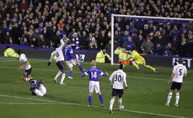 Tottenham 2-1 Everton